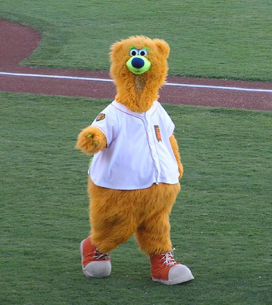 Parker - The Fresno Grizzlies Mascot