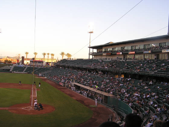 Looking towards Right Field - Chukchansi Park