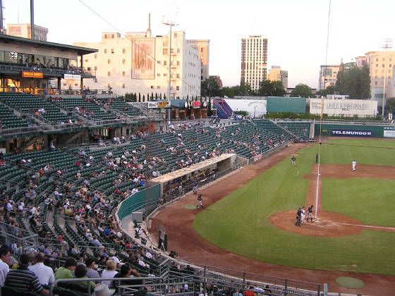 Looking Towards Left Field - Chukchansi Park