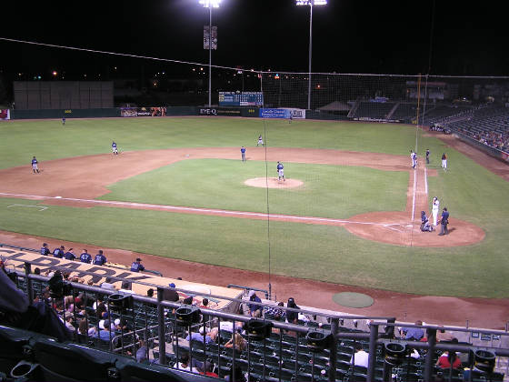 Looking towards RF - Chukchansi Park
